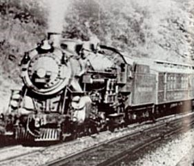 Historic photo of a train