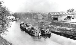 Historical photo of the Cushwa Warehouse.