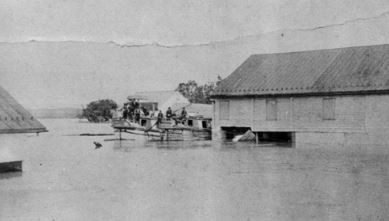 Historic photo 1889 flood in Williamsport