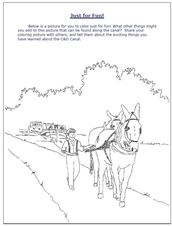 Mule Coloring Page Link