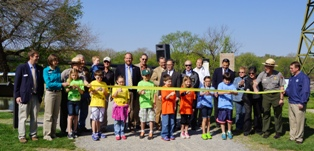 Photo of TRACK Trail Ribbon Cutting - Williamsport