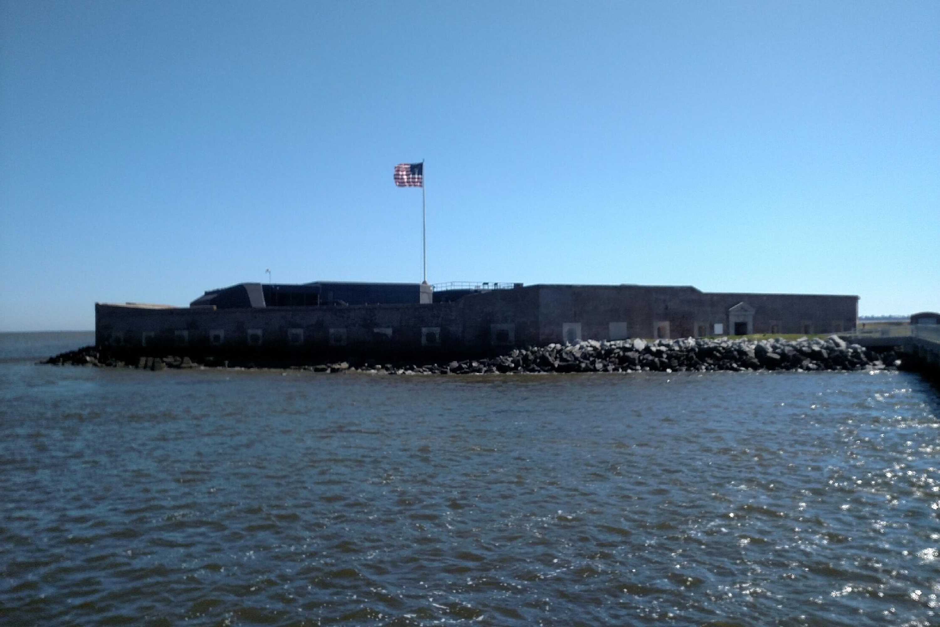 Fort Sumter from Tour Boat
