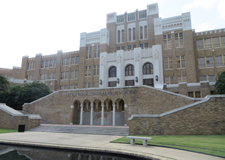 Little Rock Central High School front entrance