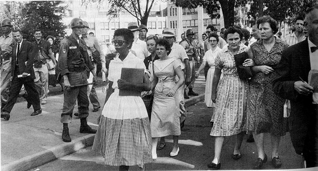 Elizabeth Eckford First Day