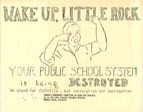 Flyer for the Women's Emergency Committee to Open Our Schools.