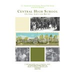Cover of the Draft Cultural Landscape Report depicting historic photographs and images of the school.