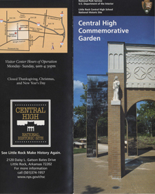 Central High Commemorative Garden Brochure