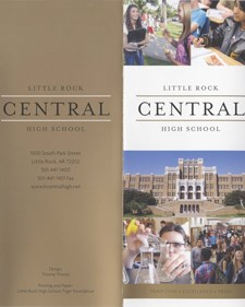 Little Rock Central High School Brochure