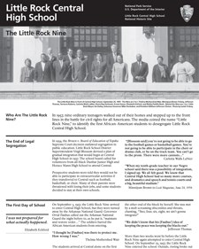 The Little Rock Nine Brochure