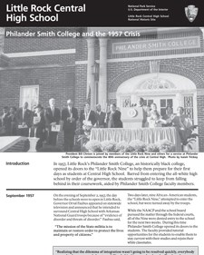 Philander Smith College and the 1957 Crisis
