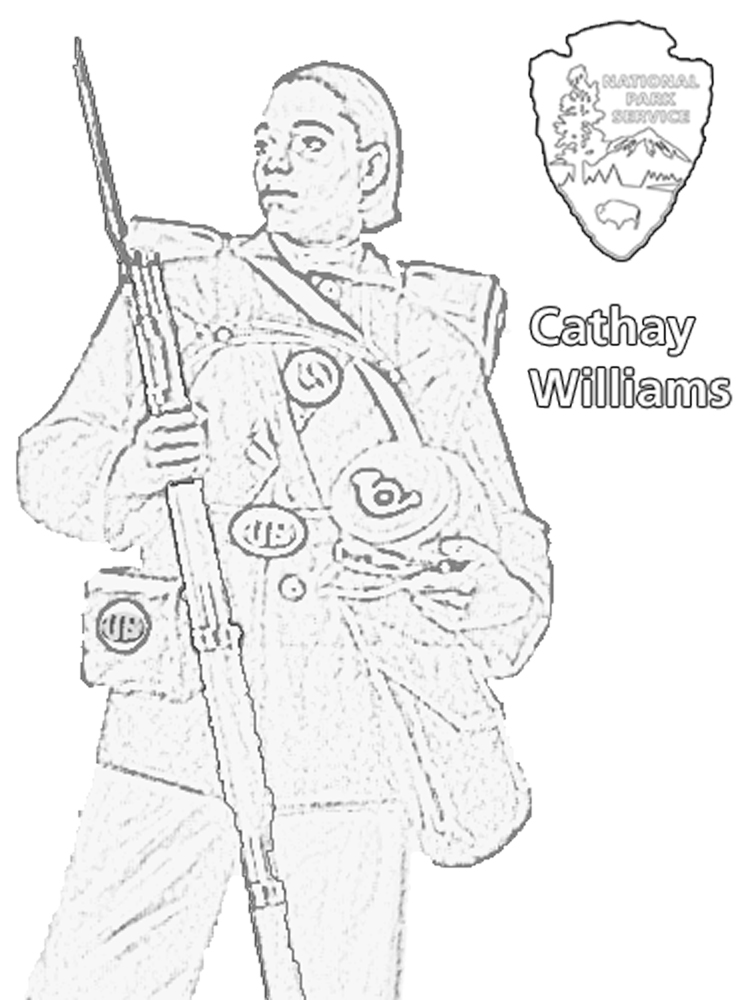 Charles Young Buffalo Soldiers Coloring Book Charles Young Buffalo Soldiers National Monument U S National Park Service