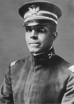 Charles Young portrait in uniform