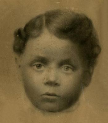 Charles Young as a child