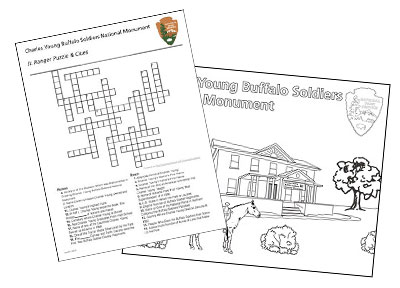 buffalo soldiers coloring pages - kids youth charles young buffalo soldiers national