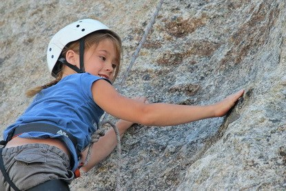 Young Climber at City of Rocks