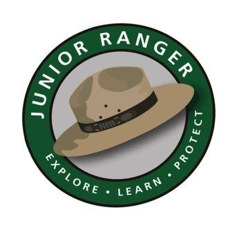 The Junior Ranger Logo with Ranger Hat
