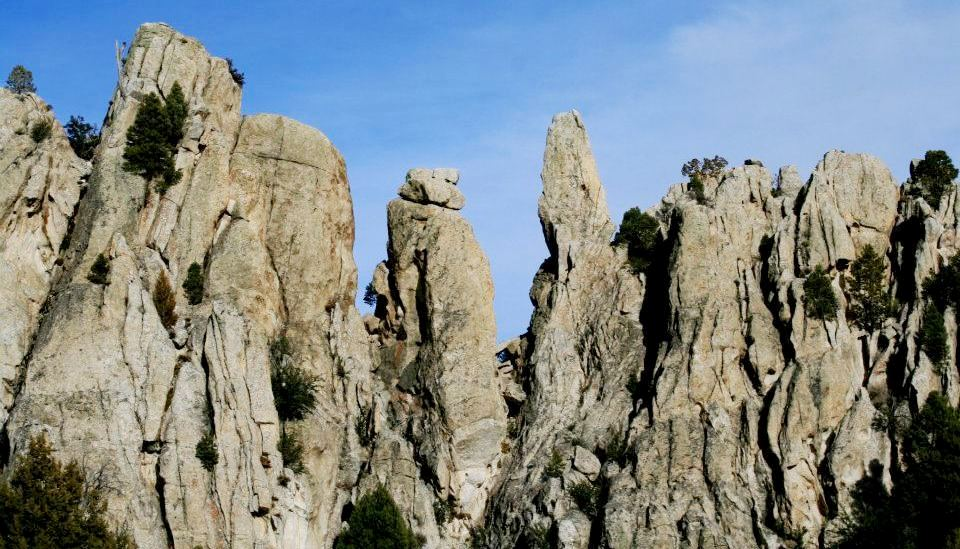 Spires along the Geological Interpretive Trail