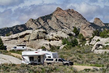 Camping in City of Rocks