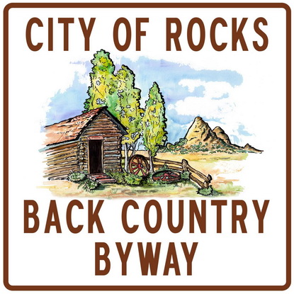 City of Rocks Back Country Byway Sign