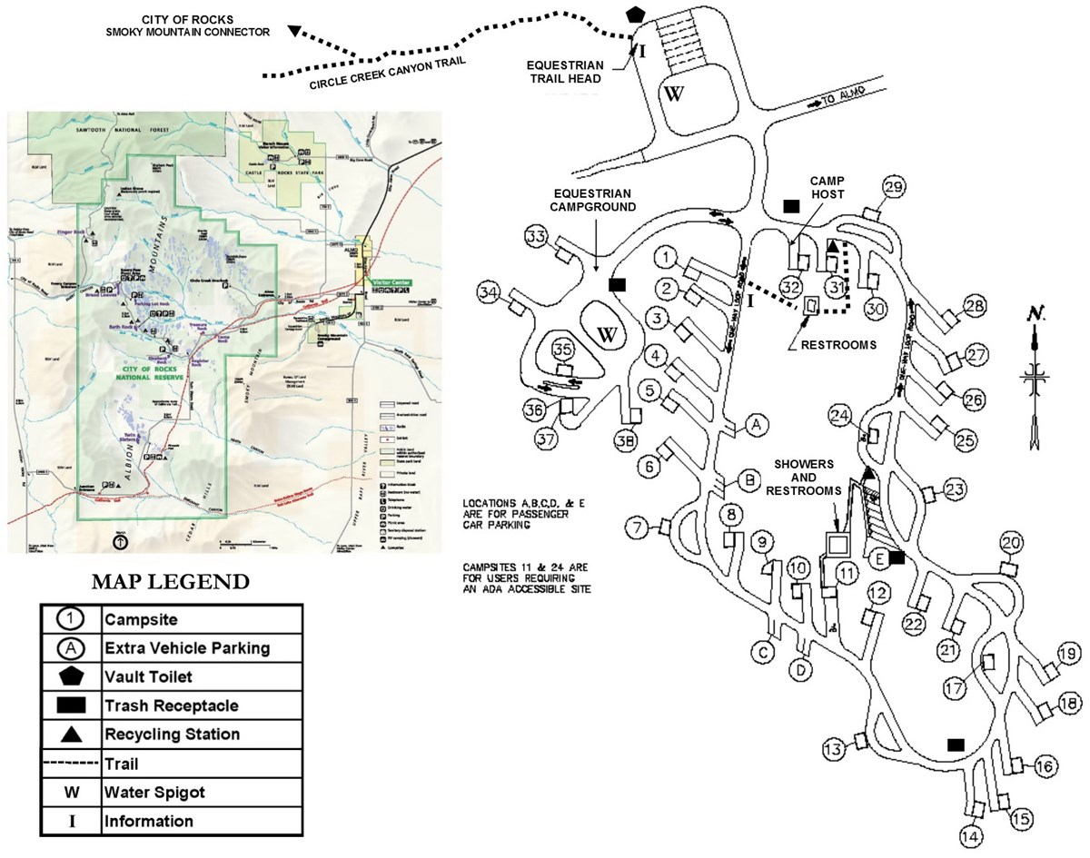 Picture of Smoky Mountain Campground Layout