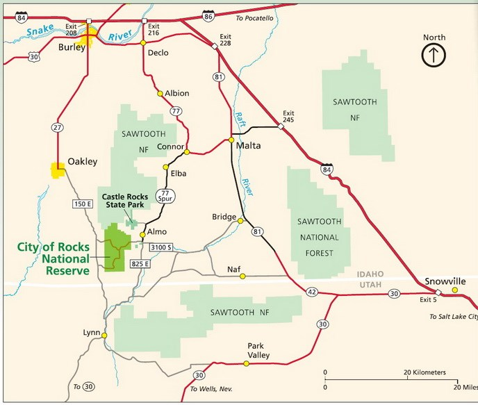 Directions & Transportation - City Of Rocks National Reserve ...