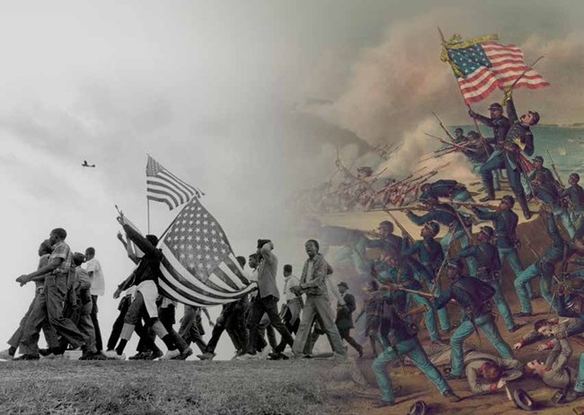 an overview of the south and north during the civil war of the united states The civil war: goals before the war, the united states was used as a government spending by both the north and south increased dramatically during the war.