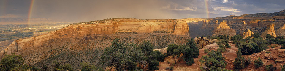 View from the Canyon Rim Trail. Photo by Jeff Kochevar