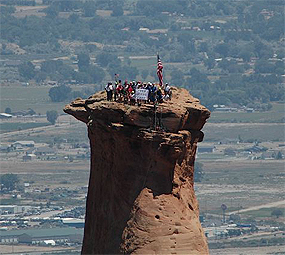 fourth of july celebration   colorado national monument u