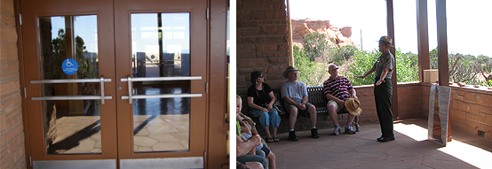 accessible porch talks