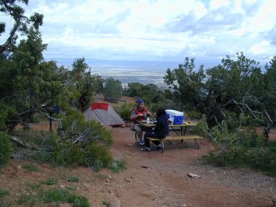 Image result for Saddlehorn Campground, Colorado national monument.