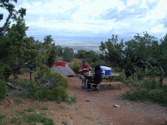 Saddlehorn campground