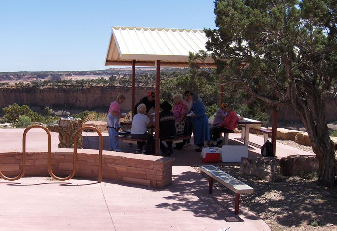 Picnic near the Visitor Center