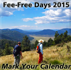 Fee-Free Days 2015 - Mark Your Calendar