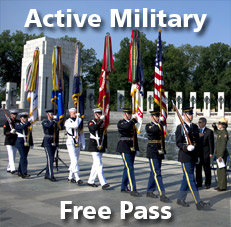 national parks military pass