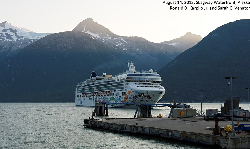 Modern photo of Skagway