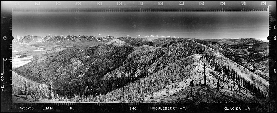 Huckleberry Lookout, Glacier National Park 1935