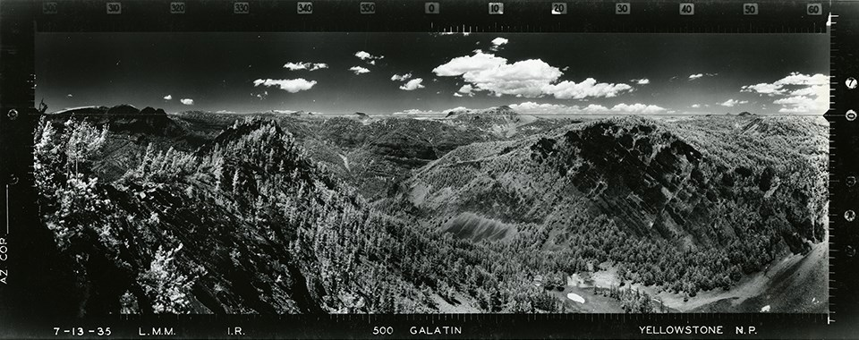 Galatin, Yellowstone National Park from 1935