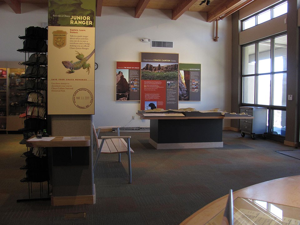 Complete Chaco Culture Exhibit Wall