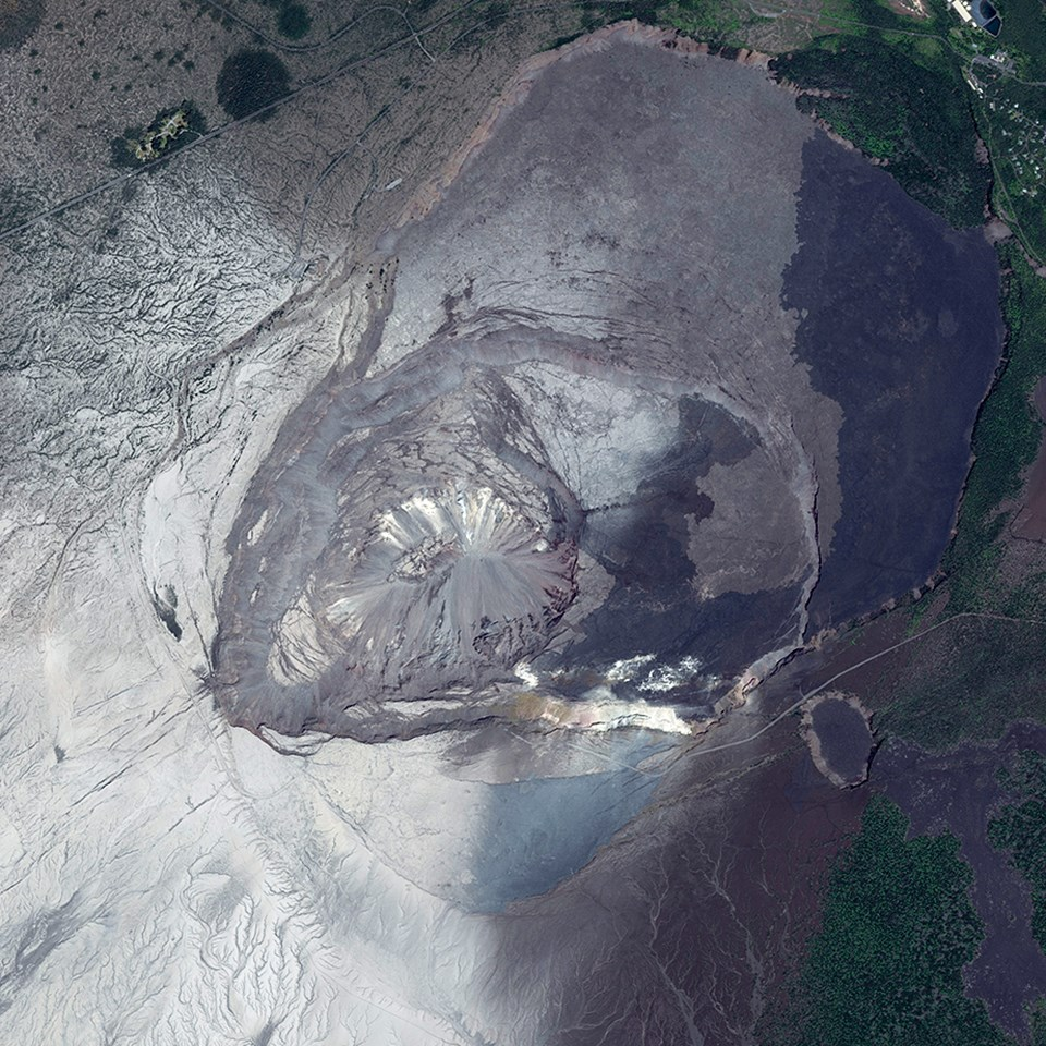 USGS photo taken on August 7, 2018