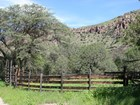 Modern photo of the corral at Faraway Ranch
