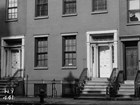 The John V. Gridley House, Marianne Moore's childhood home, New York City, New York