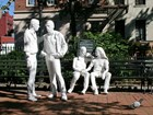 Gay Liberation (1980), statues by artist George Segal, located in Christopher Park