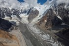 The Hawkins Glacier (Wrangell-St. Elias National Park, AK) is a valley glacier