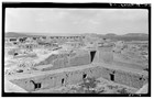 Overview of Acoma Pueblo by M James Slack 1934. HABS photo