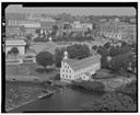 Slater Mill by Elliot. HAER Photo, Library of Congress Collections