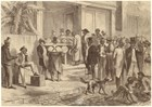 Freedmen Voting In New Orleans, circa 1867. Art and Picture Collection, The New York Public Library