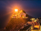 Point Reyes Lighthouse at night