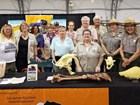 Protectors of Tule Springs and NPS staff at Tule Springs Fossil Beds National Monument