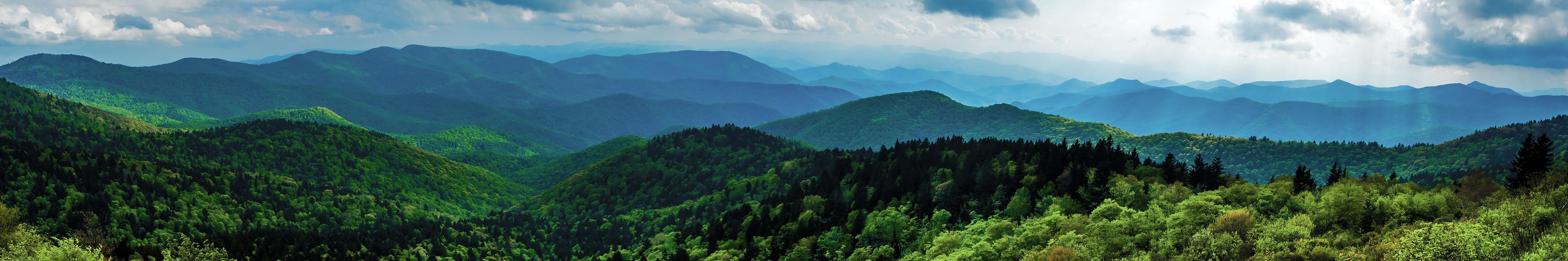 NC National Park Service Banner Doughton Park