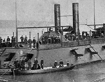 Photo of U.S.S Cairo gunboat